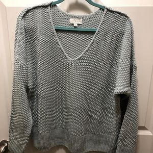 Lucky Brand Knit Sweater light blue